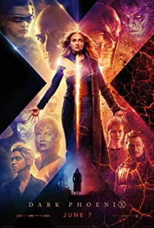 Movie Poster: Dark Phoenix 2019 Posters and Prints Unframed Wall Art Gifts 12x18