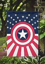 Avengers Garden Flag | Captain America | 12.5 x 18 in