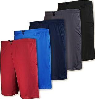 5 Pack:Men's Dry-Fit Sweat Resistant Active Athletic...