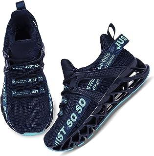 Boys Girls Shoes Tennis Running Lightweight Breathable...