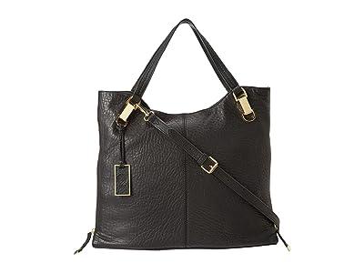 Vince Camuto Riley Tote (Black) Tote Handbags