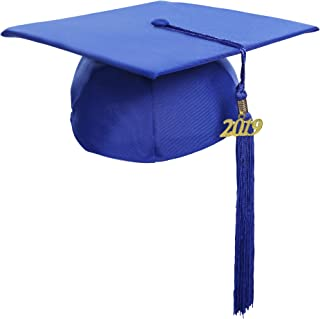 Graduation Unisex Matte Adult Graduation Cap with Tassel