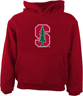 NCAA Stanford Cardinal Primary Logo RP FLC Hoodie, 3 Tall, Victory Red