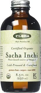 Organic Sacha Inchi Oil 8.5 oz Unrefined Virgin - Non GMO & Gluten Free - Starseed Cold Pressed Process by FLORA