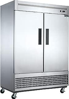 Dukers D55R 40.7 cu. ft. 2-Door Commercial Refrigerator