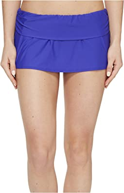Cabana Solids Maliah Flared Skirted Pants