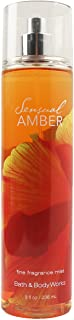 Brume Parfumée Sensual Amber Bath and Body Works