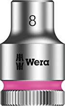 wera 5003553001 Zyklop 8790 HMB 3.8inch Socket, Hex head 8 mm x Length 29 mm