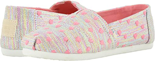 Pink Multi Heartsy Twill Glimmer