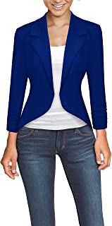 Womens Office High Low Blazer Jacket
