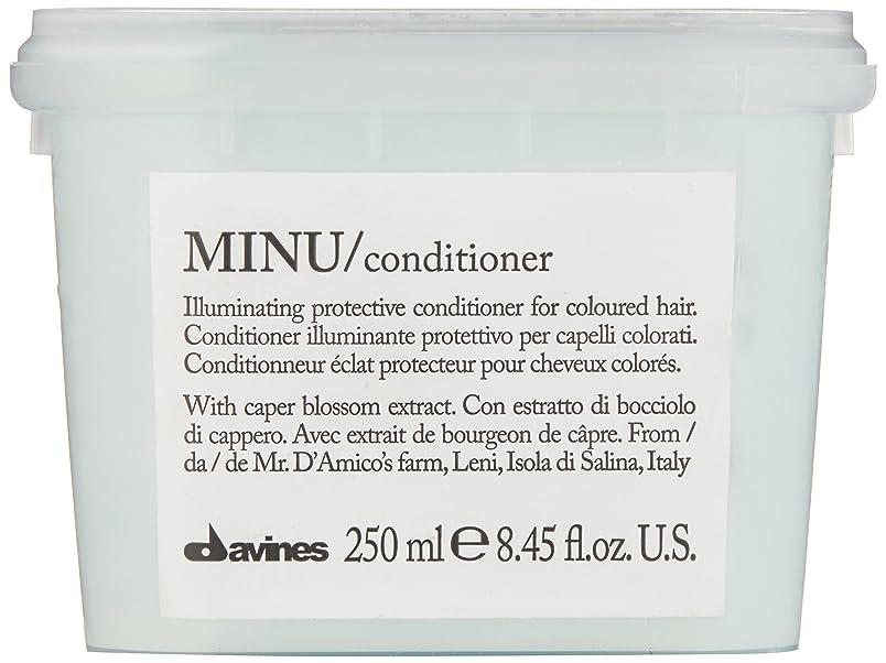 アコー首回転させるダヴィネス Minu Conditioner Illuminating Protective Conditioner (For Coloured Hair) 250ml/8.45oz並行輸入品