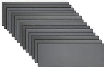 KITEOAGE Schuurpapier, Schurende Droge Natte Waterdichte Schuurpapier Bladen Verschillende Grit van 400/600/800/1000/1200/...