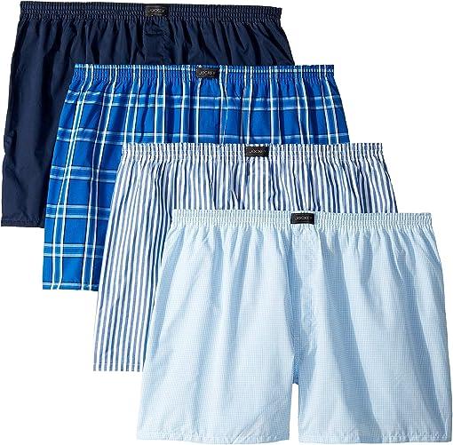 Blue Plaid/Small Plaid/Navy/Stripe