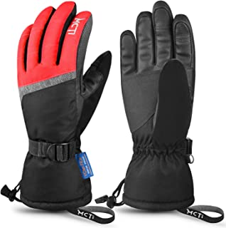 MCTi Ski Gloves,Winter Waterproof Snowboard Snow 3M Thinsulate Warm Touchscreen Cold..