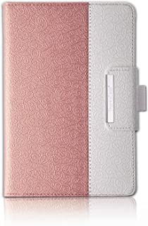 """Thankscase Case for iPad Air 10.5"""" (3rd Gen) / iPad Pro 10.5, Rotating Case Stand Cover with Pencil Holder, Swivel Case Bulid-in Wallet Pocket, Hand Strap for iPad Air 3rd Gen 10.5"""" 2019(Rose Gold)"""