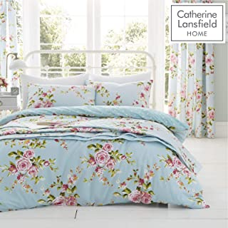 Catherine Lansfield Canterbury Floral Vintage polycotton Double Duvet Set in Multi