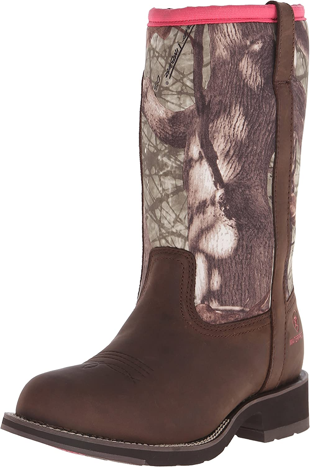 ARIAT Women's Fatbaby All Weather Western Cowboy Boot, Palm