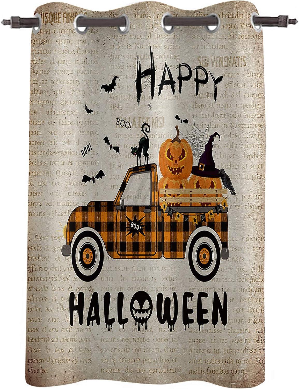 Happy Halloween Window Treatments Popular popular 52x52inch Curtai Panel Ranking TOP9