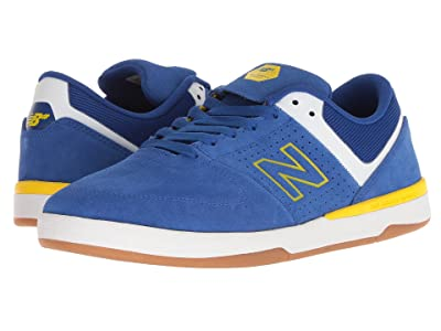 New Balance Numeric 533v2 (Royal/Yellow Suede) Men