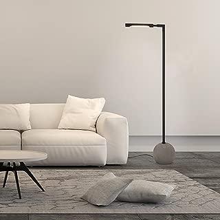 Henn&Hart Concrete orb Lamp, One Size, Black