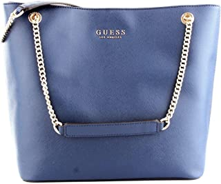 Luxury Fashion   Guess Womens HWEV7180230NAVY Blue Tote   Fall Winter 19