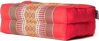 Zafuko Standard Meditation and Yoga Cushion - Red/Pink/Copper