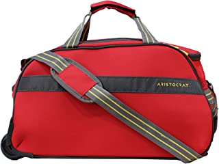Aristocrat Polyester 55 cms Red Travel Duffle (DFTDRH55RED)