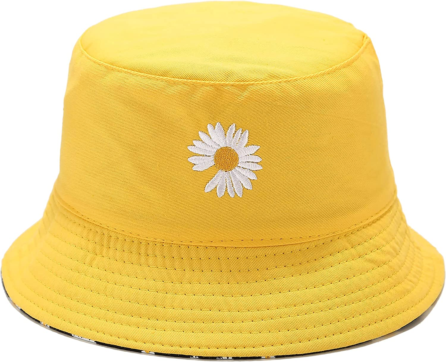 As Max Wholesale 55% OFF Seen On TV Flower Reversible Travel Bucket Summer S Beach Hat