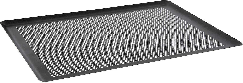 De Buyer 8162.40 - Placa para repostería (aluminio, perforada, 40 x 30 cm)