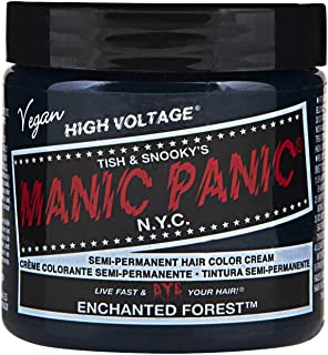 Manic Panic Semi-Permament Haircolor Enchanted Forest 4 Ounce (118ml) (6 Pack)