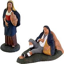 Figura Decorativa (Terracota, Pastor durmiendo, Belén De Cerámica De Caltagirone