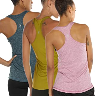 icyzone Workout Tank Tops for Women - Racerback Athletic...
