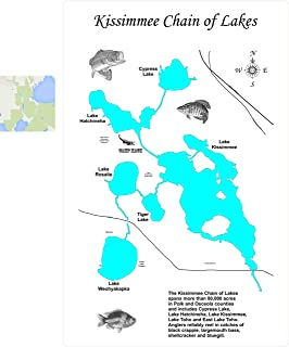 Amazon.com: Kissimmee on cypress location on map, west lake kissimmee map, lake diane michigan map, kissimmee zip code map, chain o'lakes wisconsin map, kissimmee lake brush piles, lake kissimmee bass map, walk in water lake florida map, little lake harris map, kissimmee city map, lake tohopekaliga florida map, indiana lakes map, fishing crooked lake chain map, osceola county fl map, east lake tohopekaliga map, orange lake resort orlando fl map, lake kissimmee fl map, kissimmee florida attractions, lake kissimmee topo map, cadillac michigan lakes map,