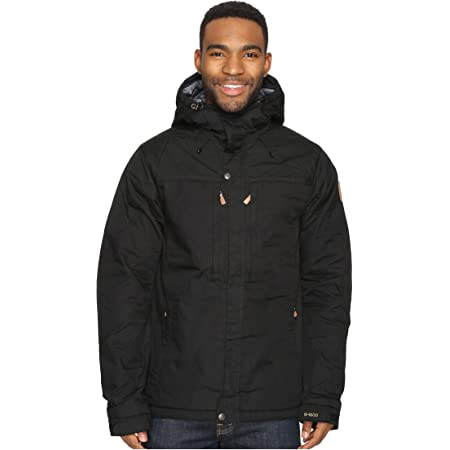 Fjallraven Men's Skogsö Padded Jacket M Sport, Black, S