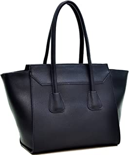 Best black structured tote bag Reviews