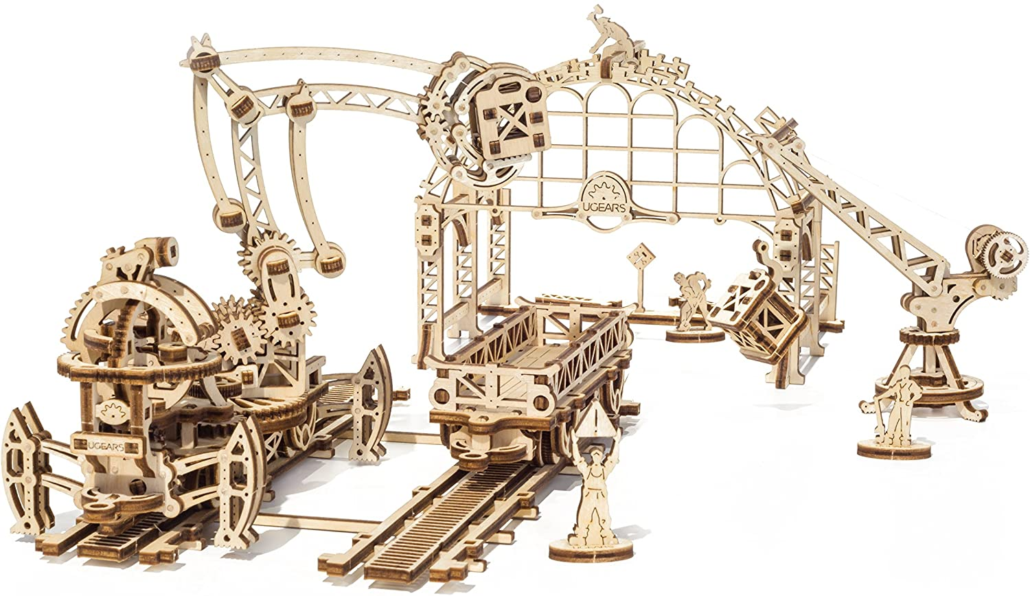 UGEARS Ranking TOP8 Mechanical Town Series Sales results No. 1 Manipulator Mounted Mechanica Rail