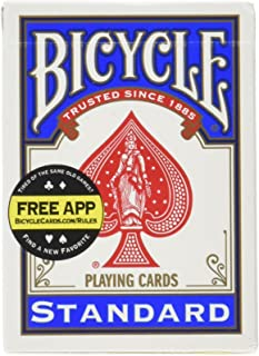 Bicycle Standard Playing Cards, One Deck