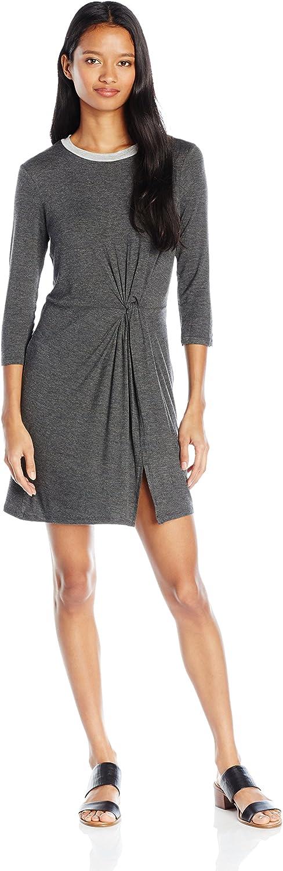 As U Wish Womens Knot Front T Shirt Dress Dress