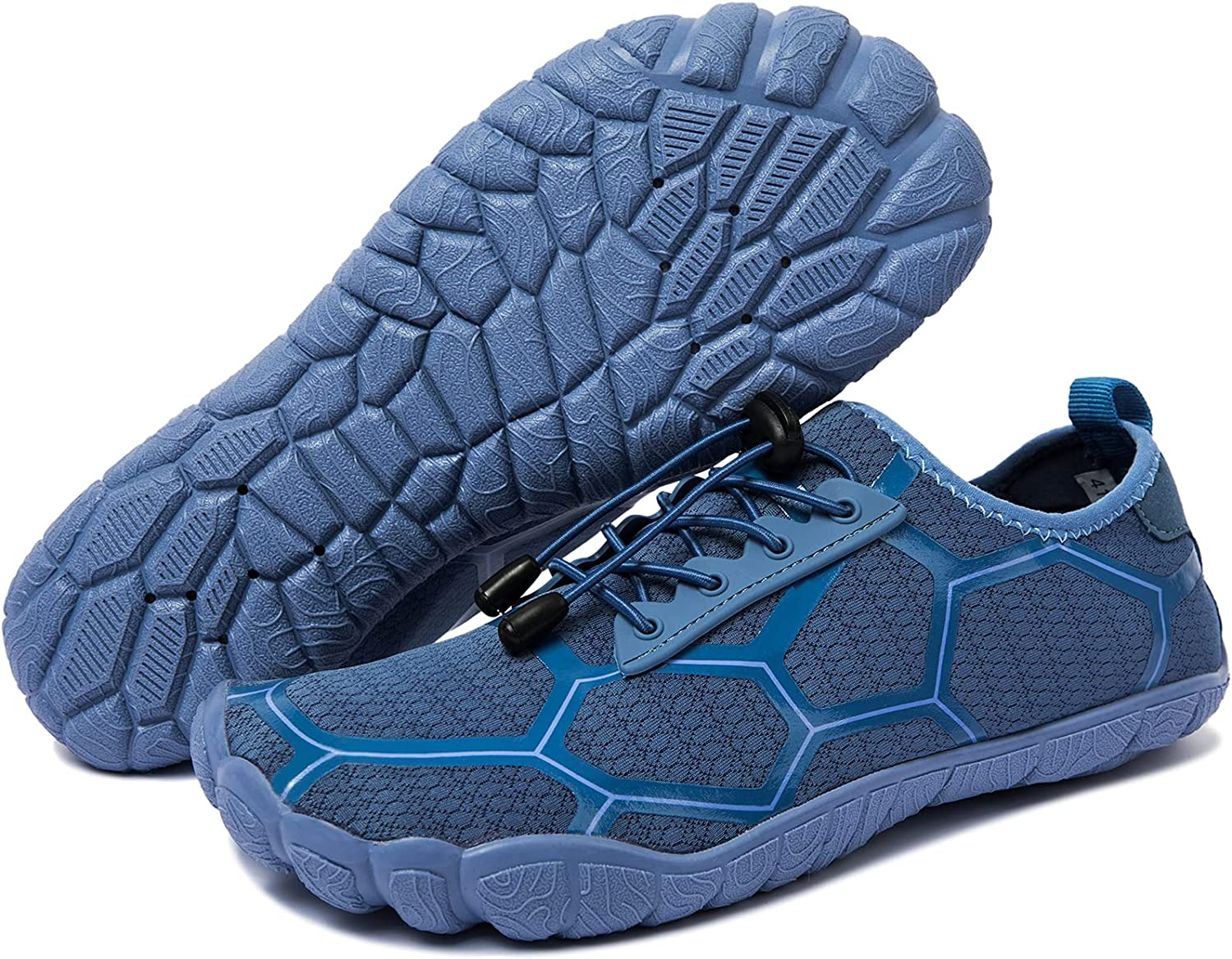 YESMOLA Men's Water Shoes Quick-Dry Barefoot Sport Aqua Louisville-Jefferson County Mall Wide In a popularity Toe