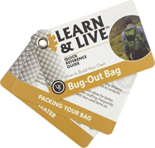 UST Learn & Live Educational Card Set with Durable, Waterproof, Compact Design and Essential Outdoor Skills for Hiking, Ca...