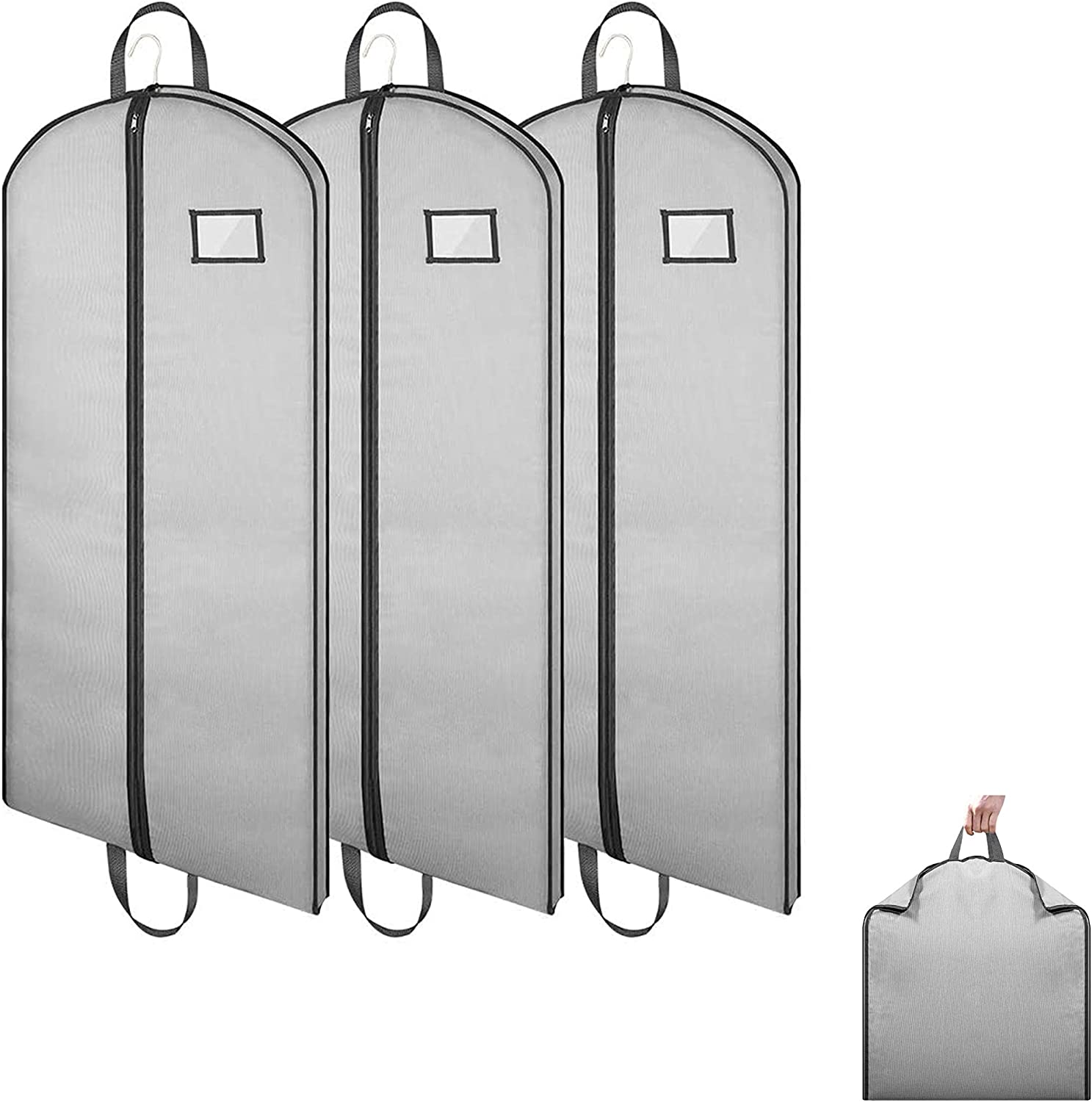 Marvelent Hanging Garment Bags online shopping Dust-Proof Sturd Max 47% OFF Suit Cover with