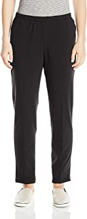 Women's Petite Pull-on Stretch French Terry Pants
