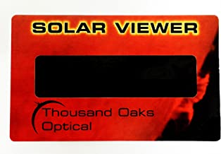 Solar Eclipse Viewers (Pack of 5) CE & ISO Certified
