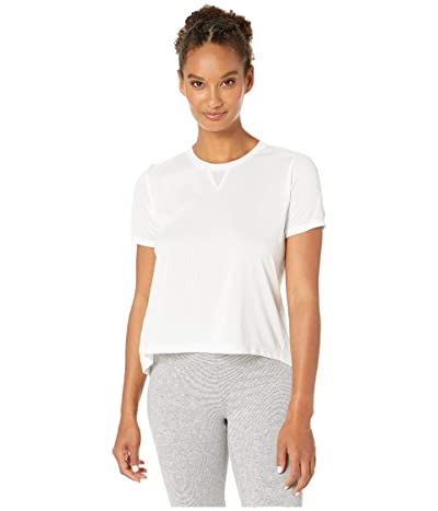 New Balance Impact Run Mesh Short Sleeve (White) Women