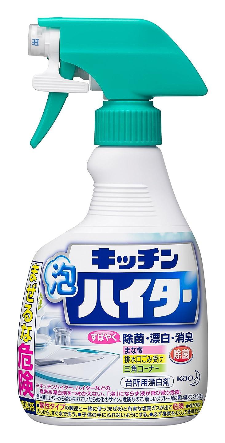 異常ベル特性キッチン泡ハイター 台所用漂白剤 ハンディスプレー 本体 400ml