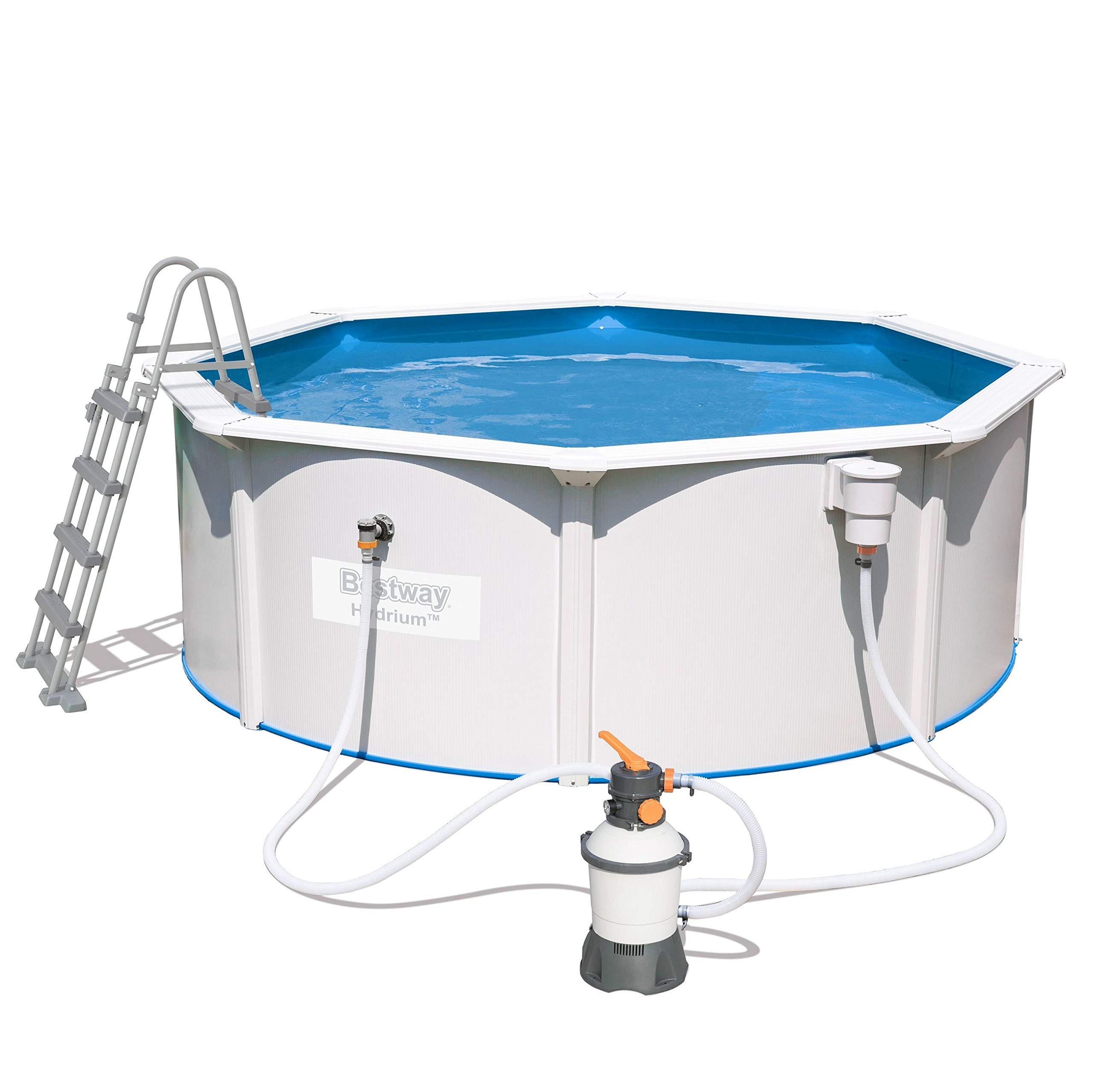 Bestway Hydrium Pool Set Piscina de Pared de Acero con Filtro de ...