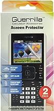 Guerrilla Guerrilla Military Grade Screen Protector 2-Pack For TI Nspire CX & CX CAS Graphing Calculator