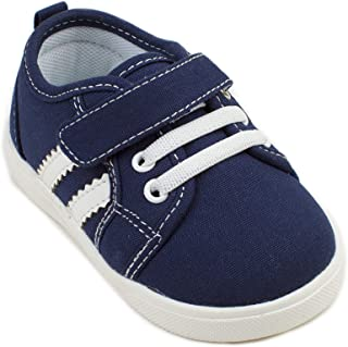 Wee Squeak Navy Toddler Squeaky Tennis Shoe
