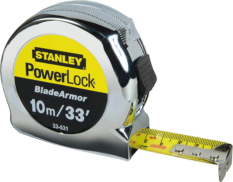 largeur 19 mm Stanley Tools STA033932 PowerLock ® TOP Lecteur de bande 5 m