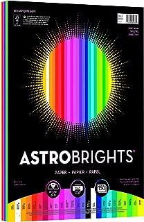 "Astrobrights Color Paper, 8.5"" x 11"", 24 lb/89 gsm,"